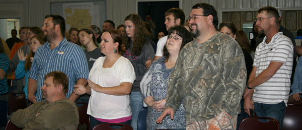Uprising Youth Rallies are a regular event of our area churches.